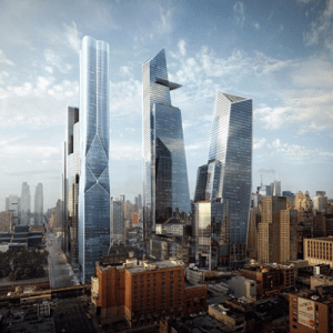 A Depiction of the Hudson Yards Project
