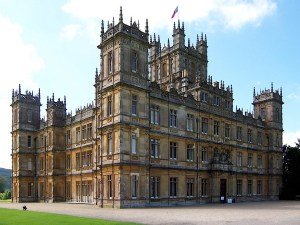 Highclere Castle aka Downtown Abbey