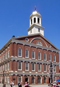 Faneuil Hall -Boston Town Meeting Site