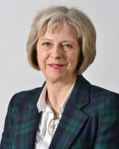 Post Brexit British Prime Minister Theresa May
