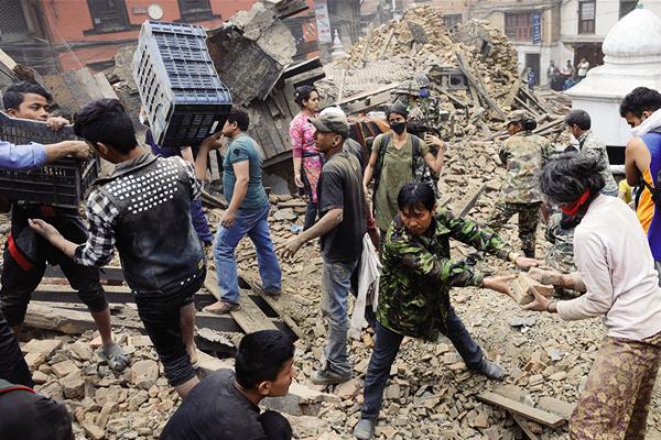 Tremblement de terre au Népal©SPF