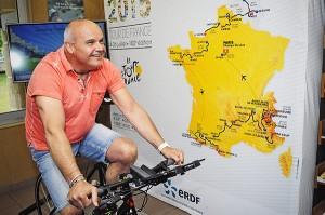 Frédéric Flory agent d'accueil à la CMCAS Clermond/Le Puy©J.MArando/ccas