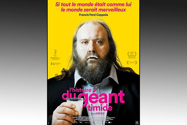 Affiche du film L'histoire du géant timide par le réalisateur islandais Dagur Kari