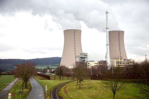 Centrale nucléaire (Grohnde), Allemagne © Eric Raz