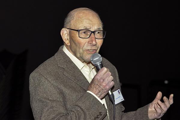 Georges Requier, 91 ans était ancien encadrant et directeur adjoint de 1958 à1964 © D.Delaine/ccas