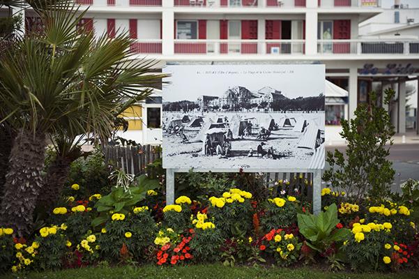 """""""Royan, la plage et le casino municipal"""" ©S.LeClezio/ccas"""
