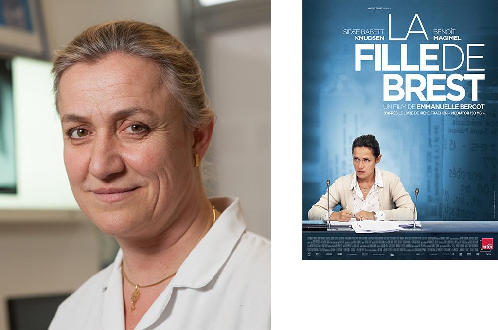 Irène Frachon, Pneumologue au CHU de Brest ©C.Crié/CCAS