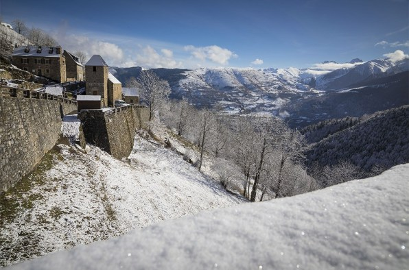 Le village de Soulan. ©Eric Raz/CCAS