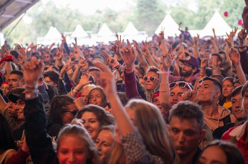 Colo 15-17 au festival Cabaret vert, août 2018. ©Didier Delaine/CCAS