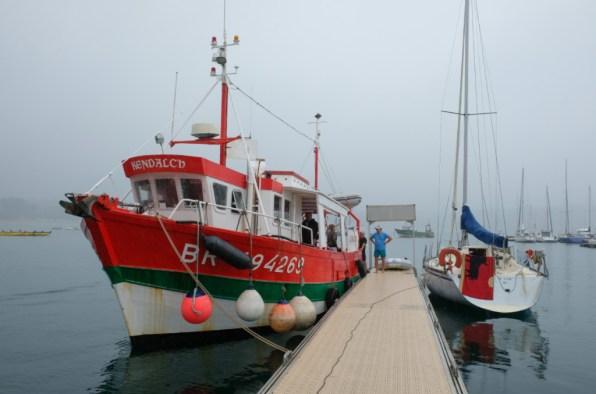 """À bord du """"Kendalc'h"""" de la CMCAS Finistère-Morbihan. ©Charles Crié/CCAS"""