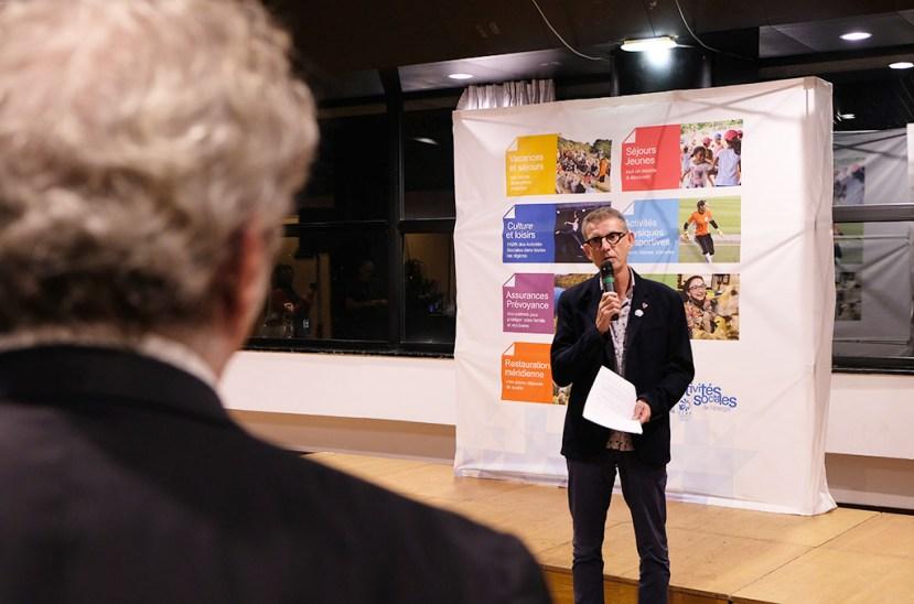 Patrick Coulet, président de la CMCAS Languedoc. ©Sophie Chyrek/CCAS