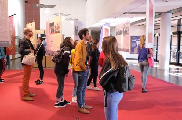 Exposition consacrée à Robert Guédiguian au festival Cinemed 2018. ©Sophie Chyrek/CCAS