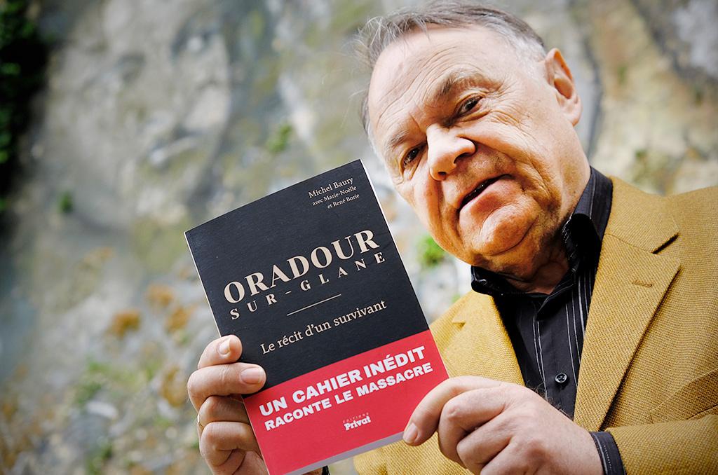 """Michel Baury, ingénieur en génie atomique à la retraite : """"je voulais tenter de répondre à cette question : pourquoi Ouradour ?"""""""