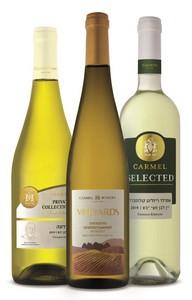 יינות לבנים של כרמל