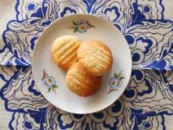עוגיות לימון דלות פחמימה