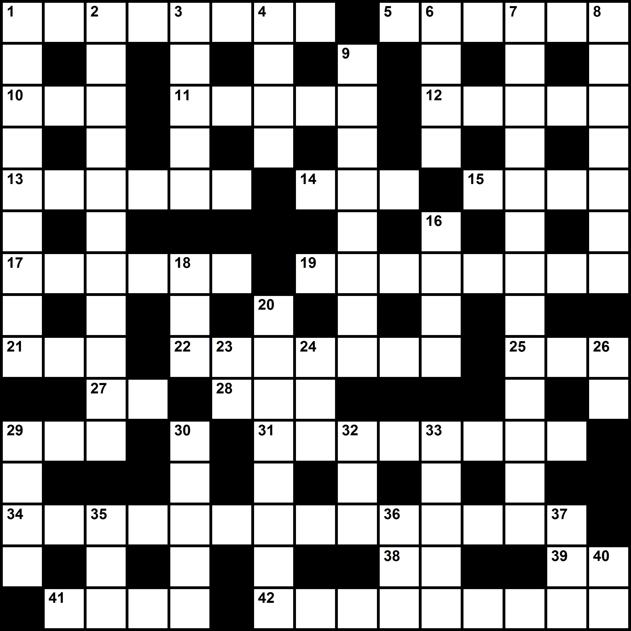 Crossword Pictures To Pin