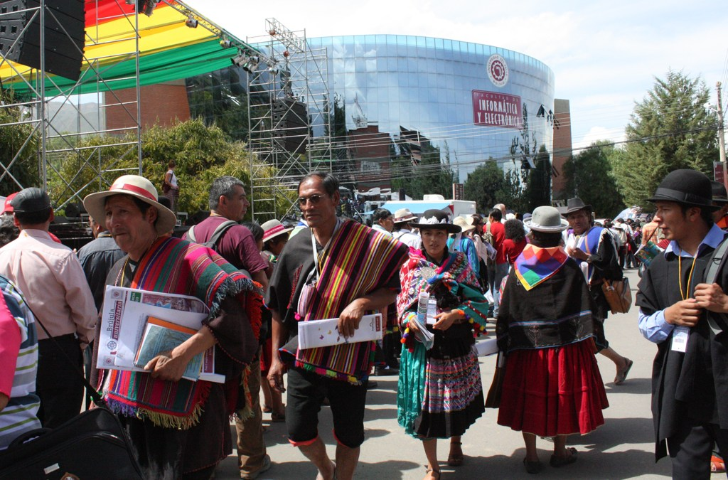 Bolivia – World People's Conference on Climate Change and the Rights of Mother Earth