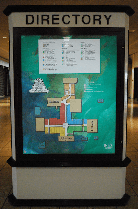 Westminster Mall Directory : westminster, directory, Westminster, Remembered, Rex's, Thoughts