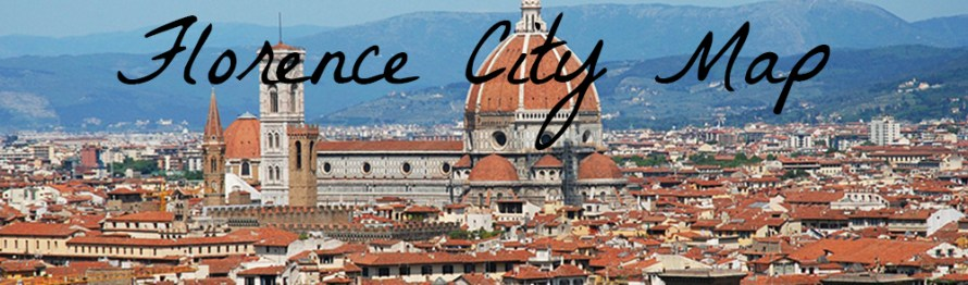 Florence Men's Shopping Map