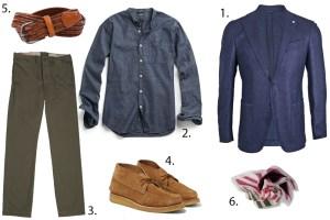 styleforum sunday styles autumn traveler outfit grid