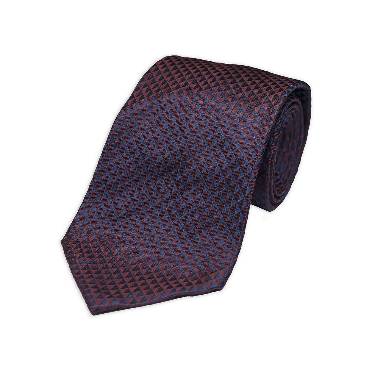 kydos styleforum holiday office party burgundy jacquard tie