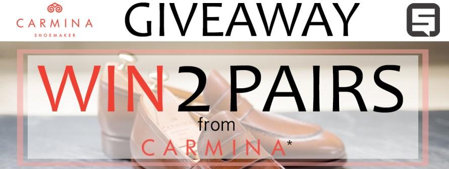 carmina shoes giveaway styleforum
