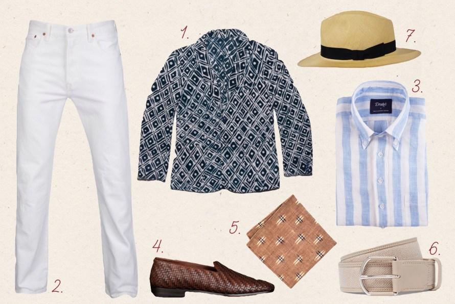 blazer with white jeans and blazer styleforum printed blazer
