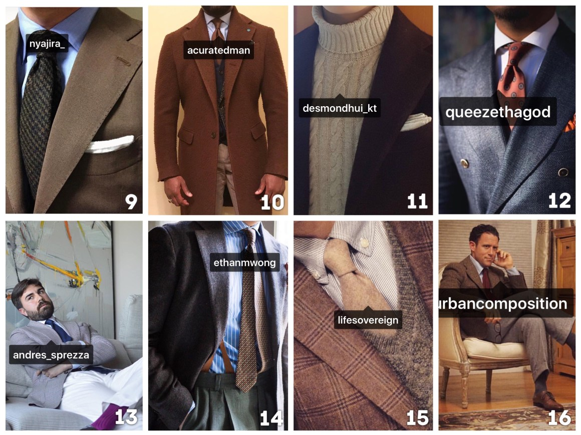 best of styleforum instagram best menswear instagram men's fashion instagram