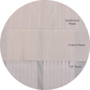 pleats formal shirt construction
