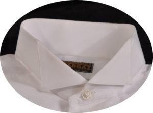 batwing wing collar formal shirt type