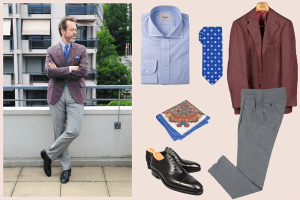 styleforum outfit inspiration diplomatic ties diplomaticties styleforum