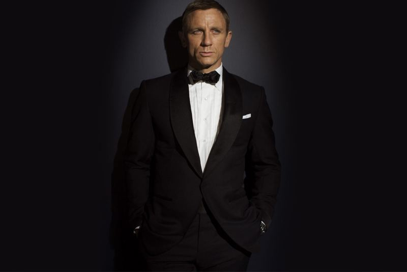 daniel craig tuxedo black tie