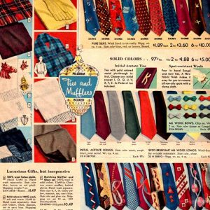 1950s ties by decade