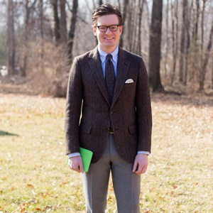 shopping mistakes menswear brooks brother tweed jacket