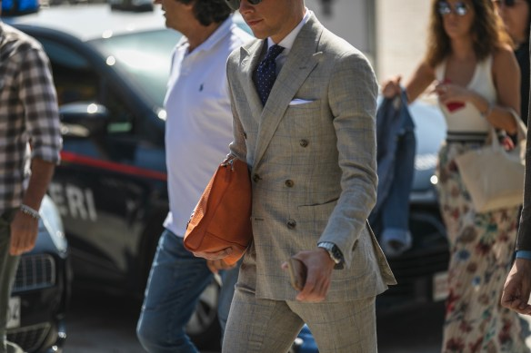pitti uomo 94 streetstyle best outfit menswear suit