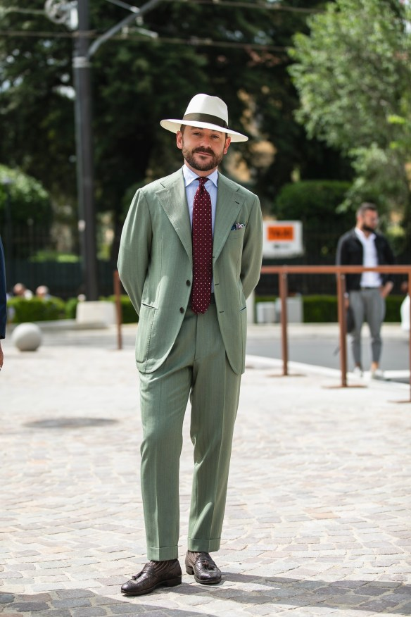 pitti uomo 94 streetstyle suit best outfit men firenze