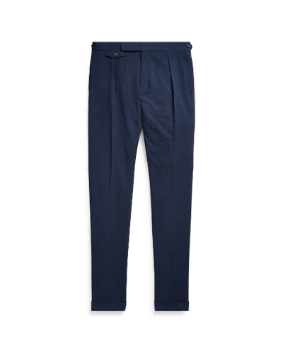 pleated trousers ralph lauren