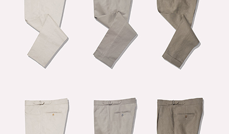 stoffa pleated trousers pants