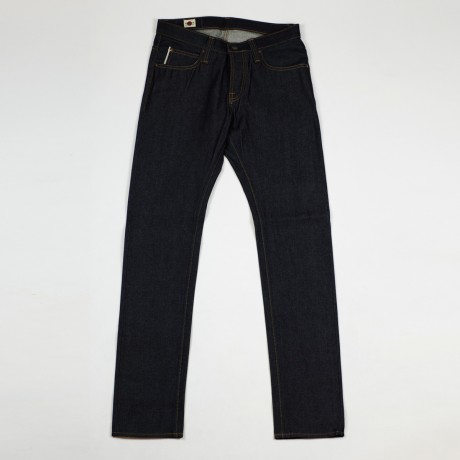 BIG JOHN Slim tapered jeans, 14 oz raw denim - via No Man Walks Alone