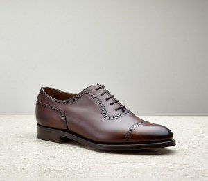 Cap toe oxford shoe - Edward Green
