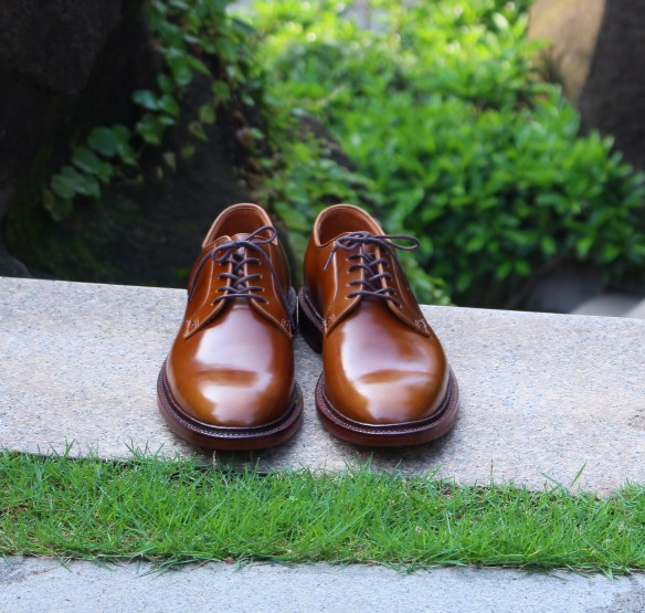 care for cordovan leather shoes