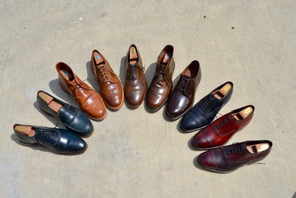 cordovan leather colors vegetable tanned horween