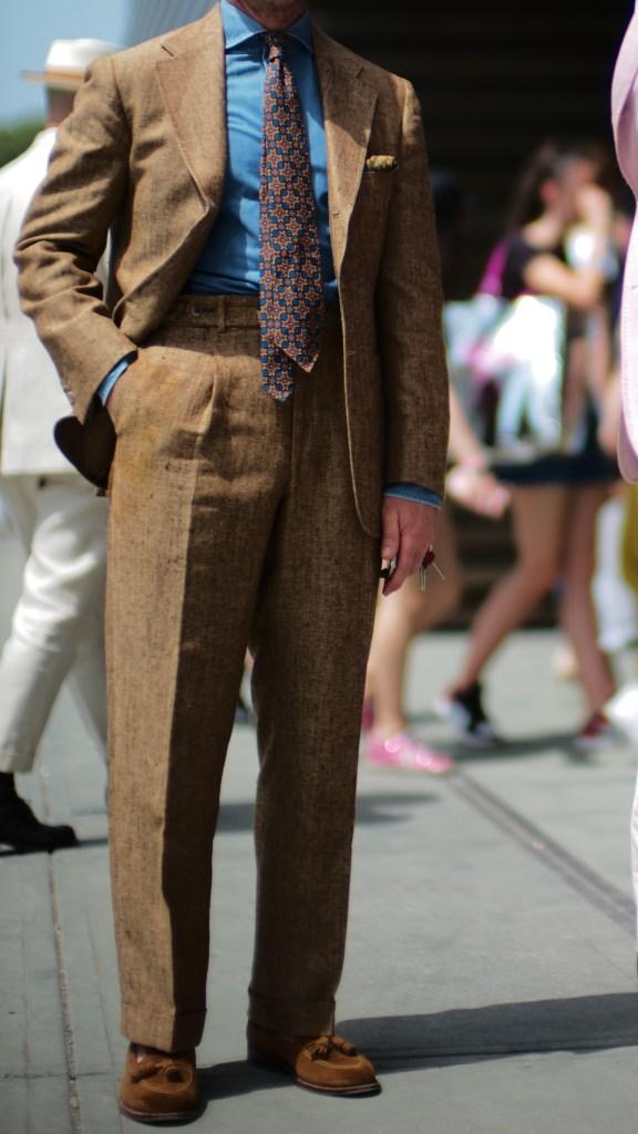 summer tweed denim shirt