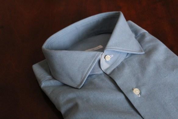 Bespoke shirts by Simone Abbacchi