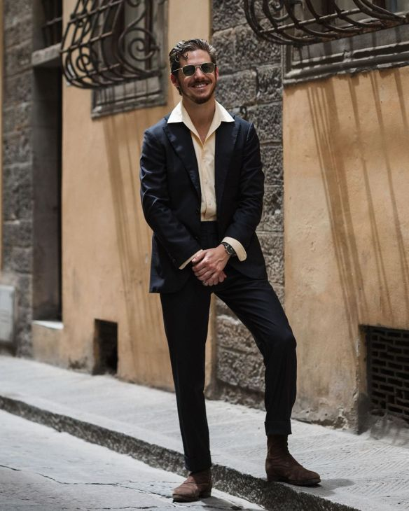 Robert Spangle in a dark suit.