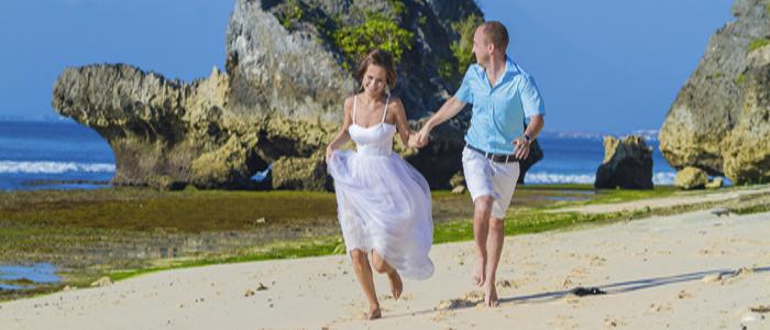 Beaches of Bali for romantic getaways