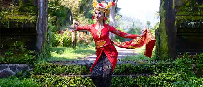 Visit Bali for its culture