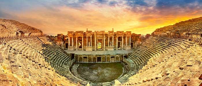 Turkey archaeological site