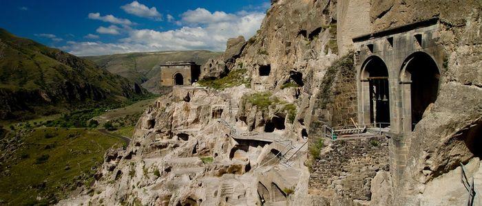 things to do in Georgia Country - caves monastery of Vardzia