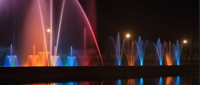 dancing fountains batumi